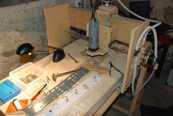 MCP Ver 1 front panel on the MDF router