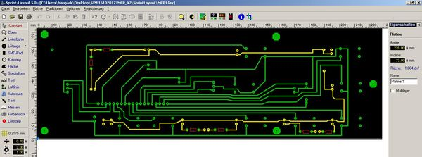 Sprint Layout for PCB (1/2)